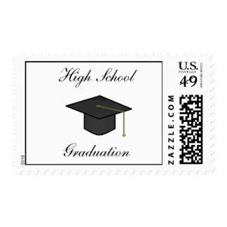 Casquillo de la graduación - sellos
