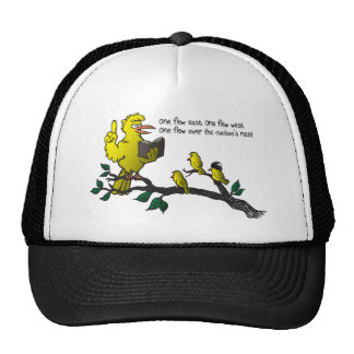 Casquillo de la jerarquía del cuco gorras de camionero