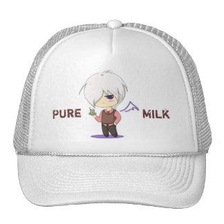 Casquillo de la leche gorro de camionero
