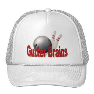 Casquillo de la liga de bolos de los cerebros del  gorro de camionero