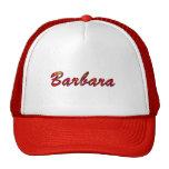 Casquillo de la malla de Barbara Gorros