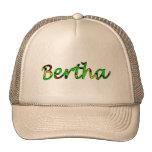 Casquillo de la malla de Bertha Gorros Bordados