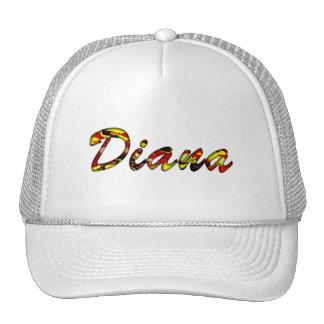 Casquillo de la malla de Diana Gorras De Camionero