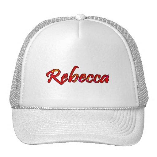 Casquillo de la malla de Rebecca en el estilo Gorros Bordados