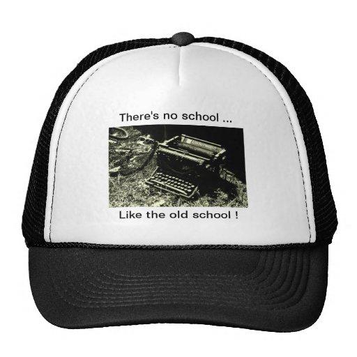 casquillo de la máquina de escribir de la escuela  gorros