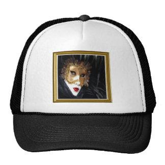 Casquillo de la máscara del carnaval de Venecia Gorras
