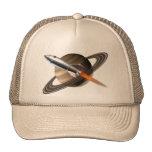 Casquillo de la nave de Saturn Rocket Gorros Bordados