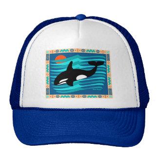 Casquillo de la orca gorras de camionero