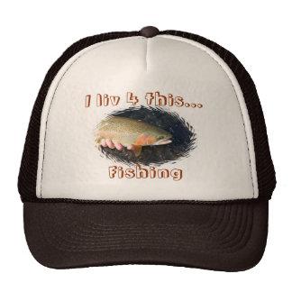 Casquillo de la pesca gorro