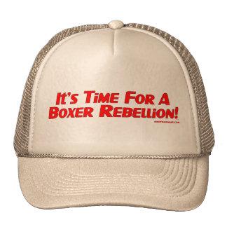 Casquillo de la rebelión del boxeador gorras