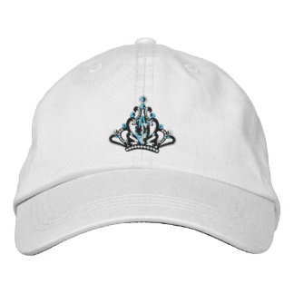 Casquillo de la tiara gorras de béisbol bordadas