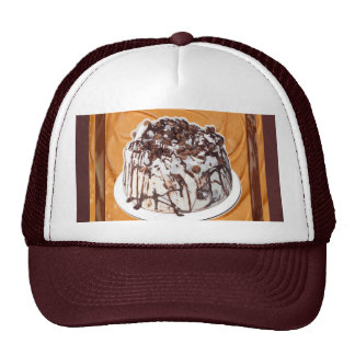 Casquillo de la torta de la crema batida del helad gorro de camionero