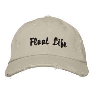 Casquillo de la vida del flotador gorra bordada