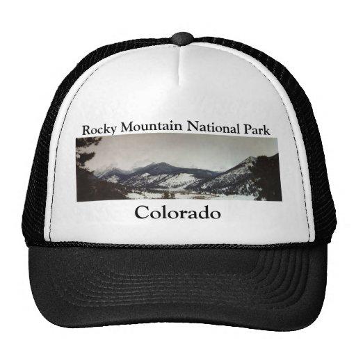 Casquillo de las montañas rocosas de Colorado Gorros