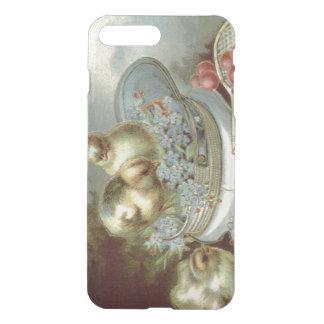 Casquillo de las nomeolvides del polluelo de fundas para iPhone 7 plus