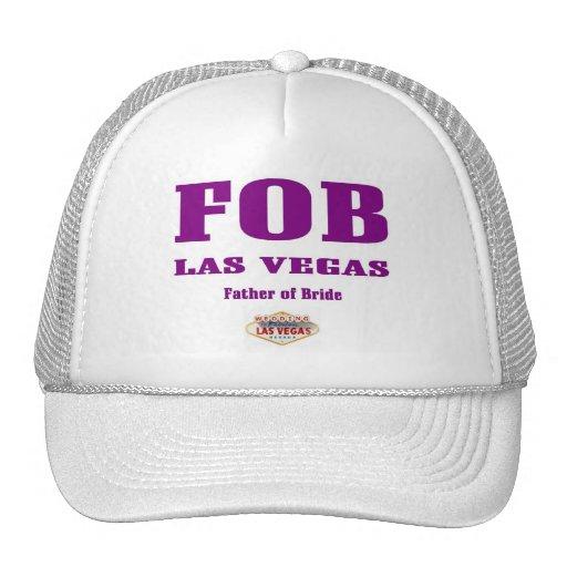 Casquillo de Las Vegas del MANDO (padre de la novi Gorros Bordados