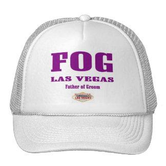 """Casquillo de Las Vegas del novio de la NIEBLA """"pad Gorros Bordados"""