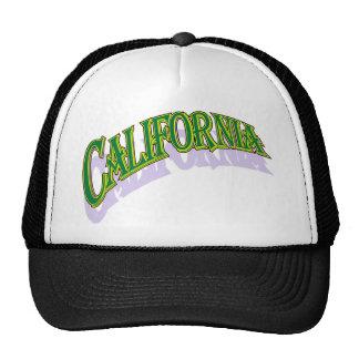 Casquillo de los greencaps de California Gorros