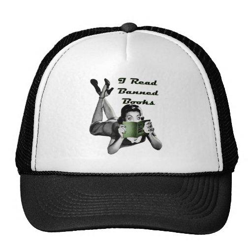 Casquillo de los libros prohibidos gorra