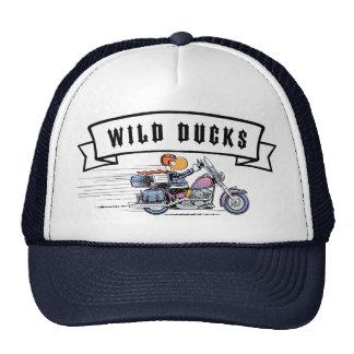 Casquillo de los motoristas de los patos salvajes gorras de camionero