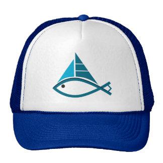 casquillo de los pescados de la vela gorras