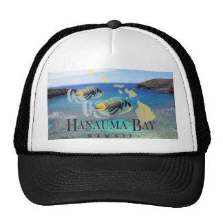 Casquillo de los pescados del disparador de Hawaii Gorras