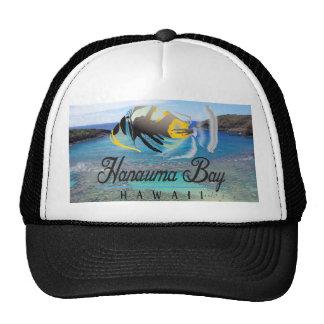 Casquillo de los pescados del disparador de Hawaii Gorros