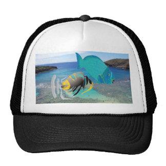 Casquillo de los pescados del disparador de Hawaii Gorra