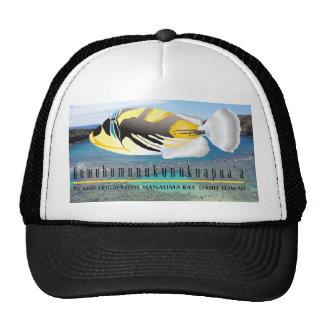 Casquillo de los pescados del disparador de la bah gorros bordados
