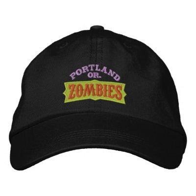 Casquillo de los zombis de Portland Gorro Bordado