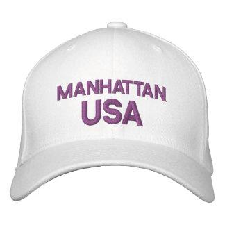 Casquillo de Manhattan los E.E.U.U. Gorra De Beisbol