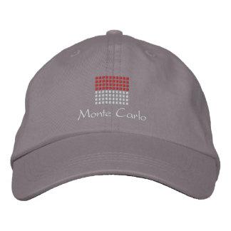 Casquillo de Monte Carlo - gorra de la bandera de  Gorro Bordado