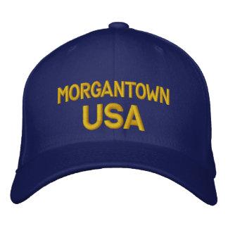 Casquillo de Morgantown los E.E.U.U. Gorras De Beisbol Bordadas
