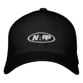 Casquillo de NAPP en negro Gorras De Beisbol Bordadas