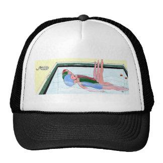 Casquillo de natación sincronizada gorras