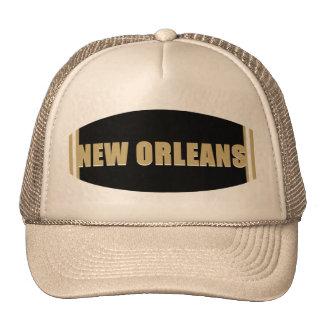 Casquillo de New Orleans Gorros Bordados