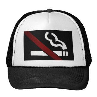 casquillo de no fumadores gorra