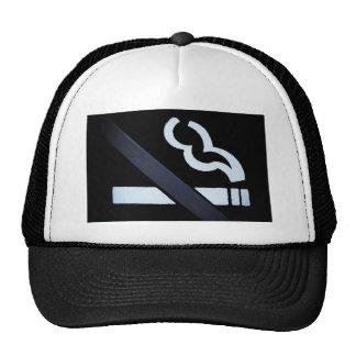 casquillo de no fumadores gorros bordados