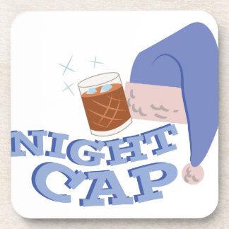Casquillo de noche posavasos de bebida
