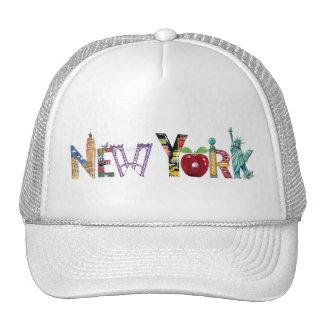 Casquillo de Nueva York Gorras De Camionero