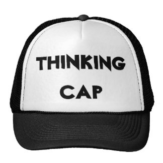 Casquillo de pensamiento gorras