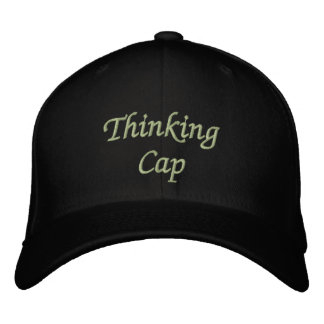 Casquillo de pensamiento gorra de beisbol bordada
