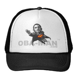 Casquillo de plata del Oba-Man de la mosca Gorras De Camionero