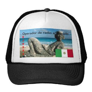 Casquillo de radio aficionado de México Operador Gorras