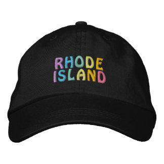 Casquillo de RHODE ISLAND Gorra De Béisbol Bordada