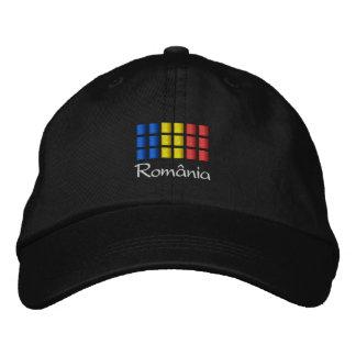 Casquillo de Rumania - gorra rumano de la bandera Gorros Bordados