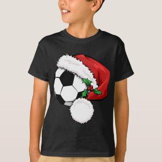 Casquillo de Santa del balón de fútbol Remeras