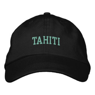 Casquillo de TAHITÍ Gorra De Beisbol Bordada