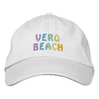 Casquillo de VERO BEACH 3 Gorros Bordados