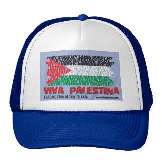 Casquillo de Viva Palestina Gorro De Camionero